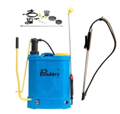 Set Pompa stropit Electrica + Manuala ( 2 in 1 ) 16 Litri Pandora