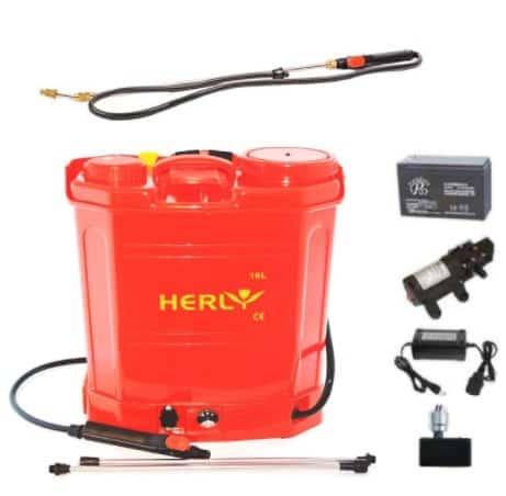 Set Vermorel cu baterie HERLY 16 Litri