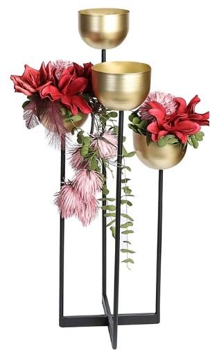 suport metalic flori quattro