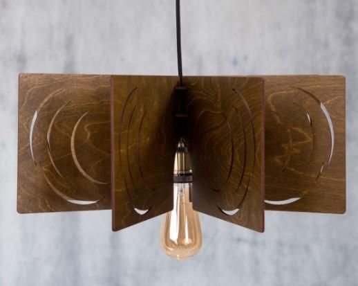 lustre din lemn