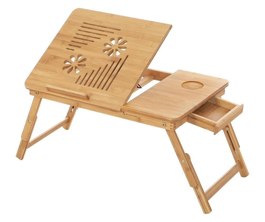 masuta laptop din lemn
